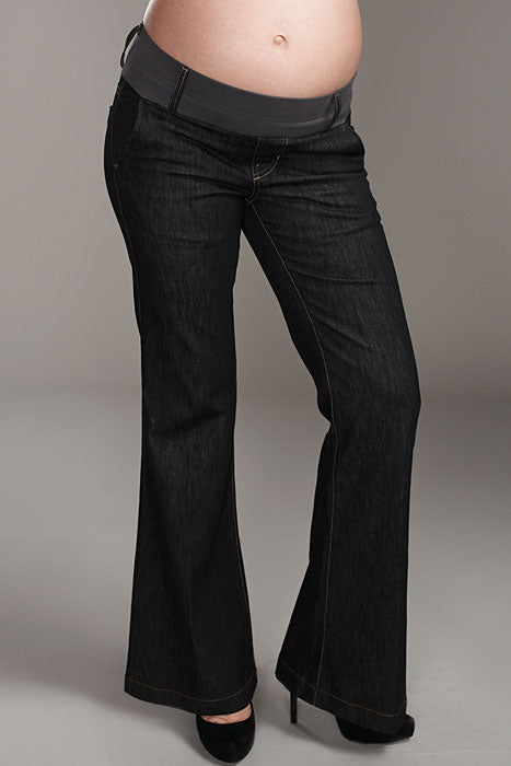 Maternal America Megan Black Maternity Jeans