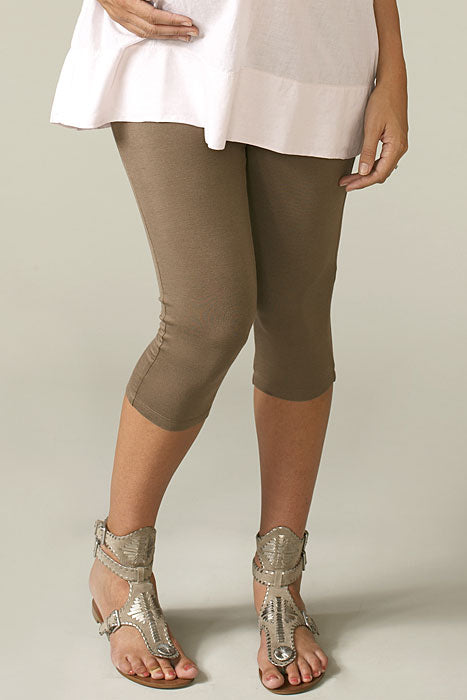 Maternal America Crop Maternity Leggings