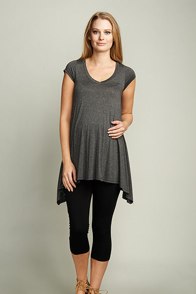 UrbanMA Maternity V-Neck Tunic