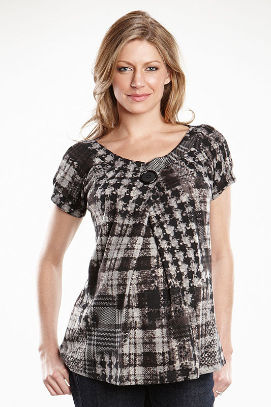 Maternal America Peasant Top - tummystyle.com