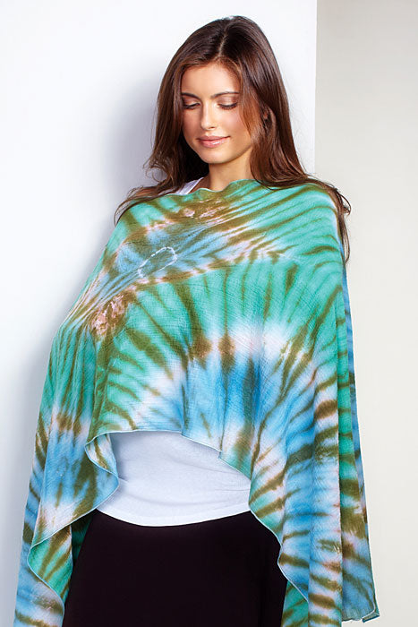 Maternal America Tie Dyed Nursing Scarf - tummystyle.com