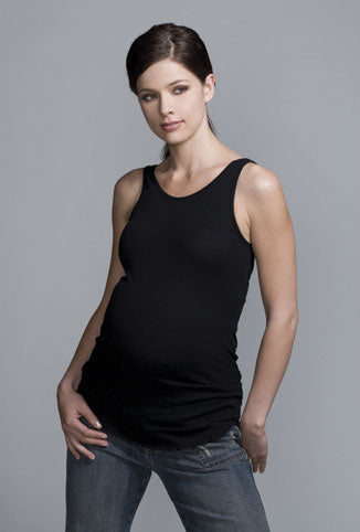 Maternal America Ribbed Cotton Tank