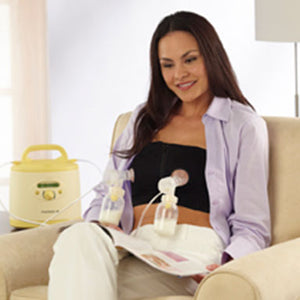 Medela Easy Expression Hands Free Bustier White - tummystyle.com