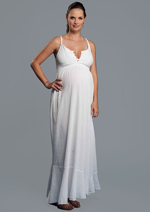 1 in the Oven Beach Maternity Nursing Dress