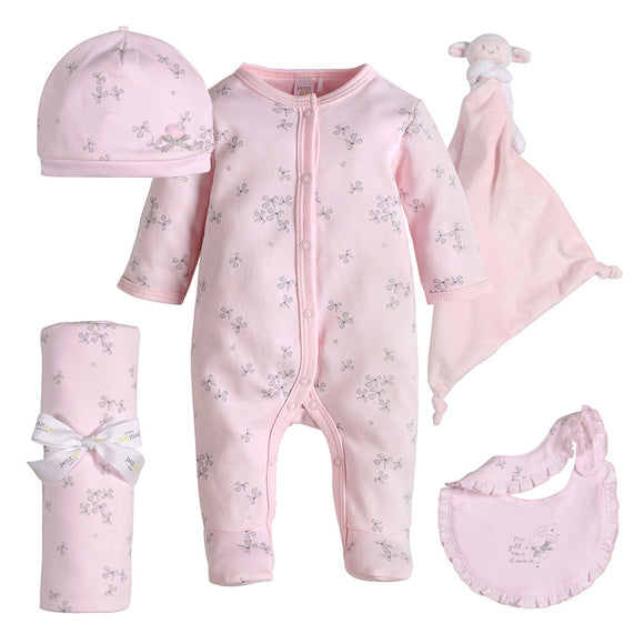 Sweet Sleeping Bunny 5 piece Gift Bundle - tummystyle.com