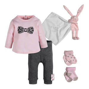 Sweet Bunny 5 Piece Baby Bundle
