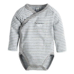 In the Sky Cross-Over Striped Diaper Shirt - tummystyle.com