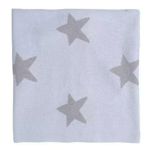 In the Sky Star Struck Knitted Blanket - tummystyle.com