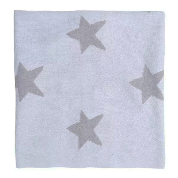In the Sky Star Struck Knitted Blanket