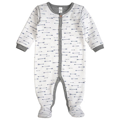 PetitLem Arrow Printed Sleeper - tummystyle.com