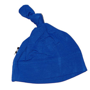 Sweet Bamboo Knot Cap Royal Blue