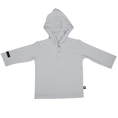 Sweet Bamboo L/S Hoodie - Grey - tummystyle.com