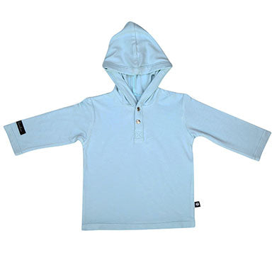 Sweet Bamboo L/S Hoodie - Light Blue - tummystyle.com