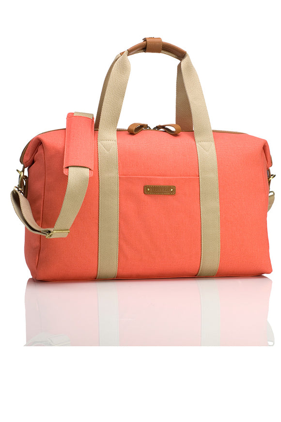 Storksak Bailey Coral Diaper Bag