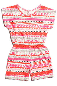 Winter Water Factory Berlin Romper Geo Pink