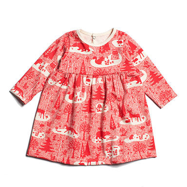 Geneva Baby Dress by Winter Water Factory