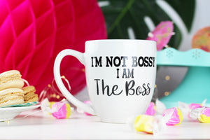 I'm not bossy, I am the boss