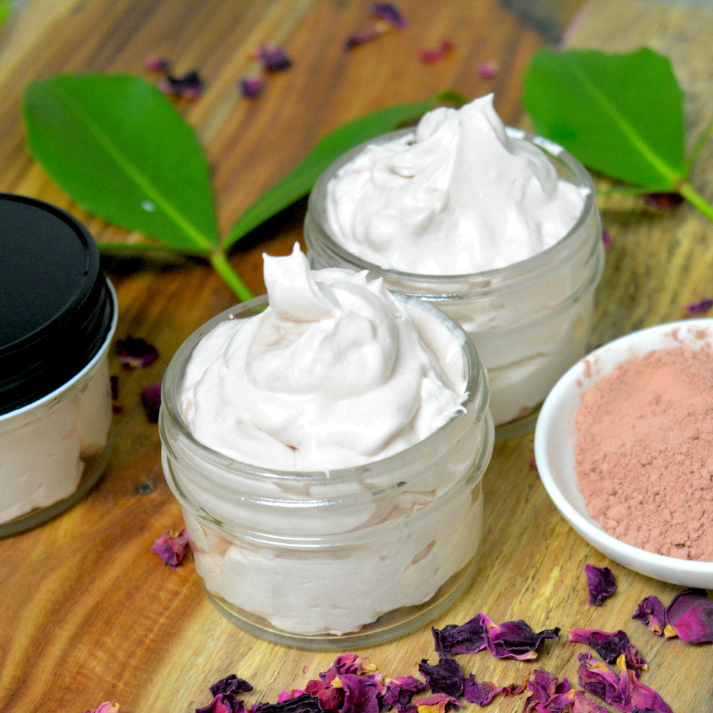 Rose & Pink Clay Whipped Body Butter