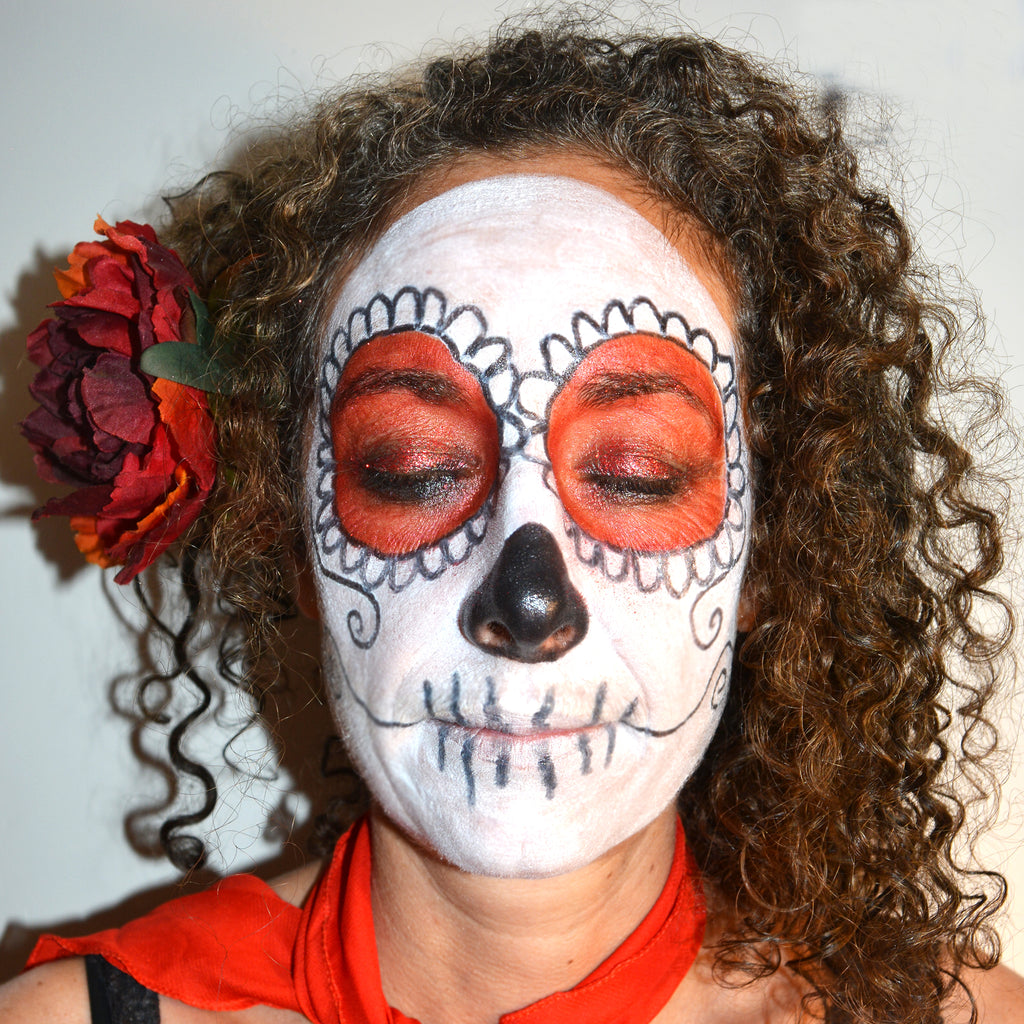 Red Eyeshadow – Day of the Dead