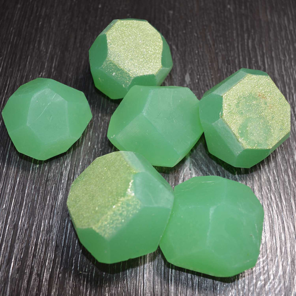 Glow in the dark Soap Gems