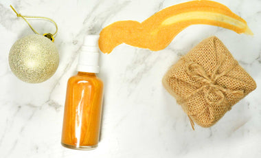 Gold, Frankincense & Myrrh Shimmer Oil