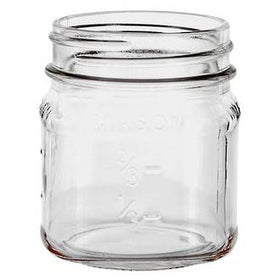 Mason Jar (Label ready) - 8oz