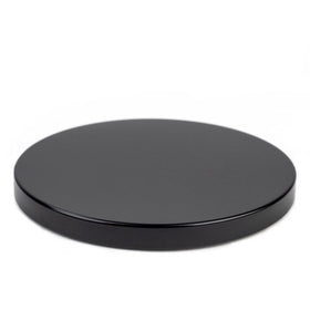 Black Metal Flat Lid (3-Wick)