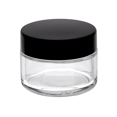 30ml Glass Pot -  Clear