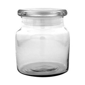 Apothecary Jar - Large with Flat Lid
