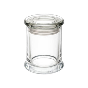Metro Medium - Clear, with Flat Lid