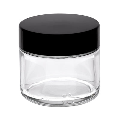 60ml Glass Pot - Clear