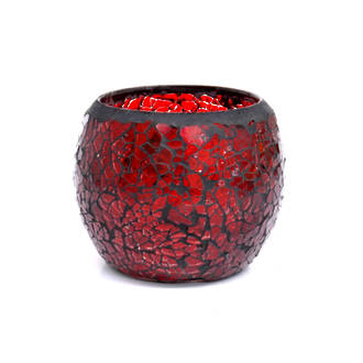 Mosaic - Red Crackle