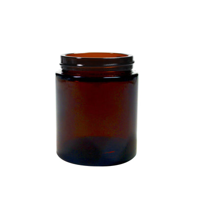 100ml Glass Pot - Amber