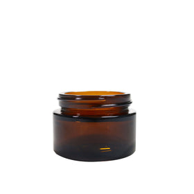 30ml Glass Pot -  Amber