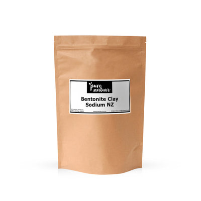 Bentonite Clay (Sodium) - New Zealand
