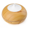 Aroma Diffuser, Circular with Spout - Light Wood