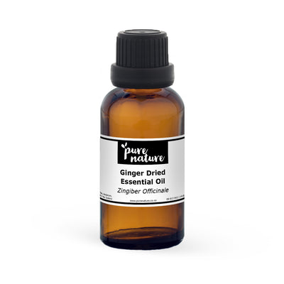 Ginger, Dried Essential Oil