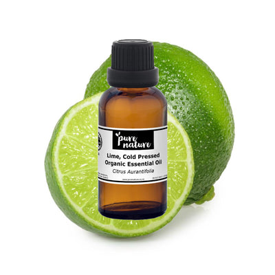 Lime, Cold Pressed - Organic Essential Oil