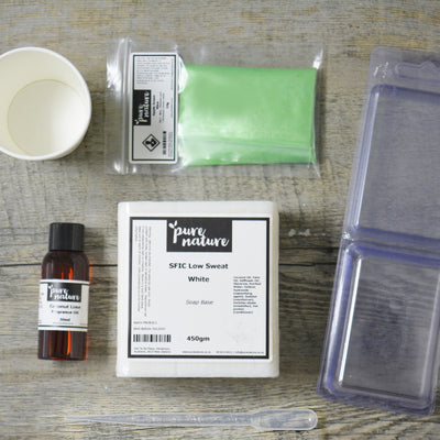Beginners Melt & Pour Soap Kit
