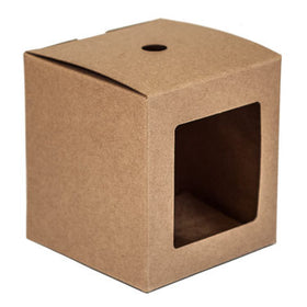 Kraft Tumbler Box - Straight-Sided