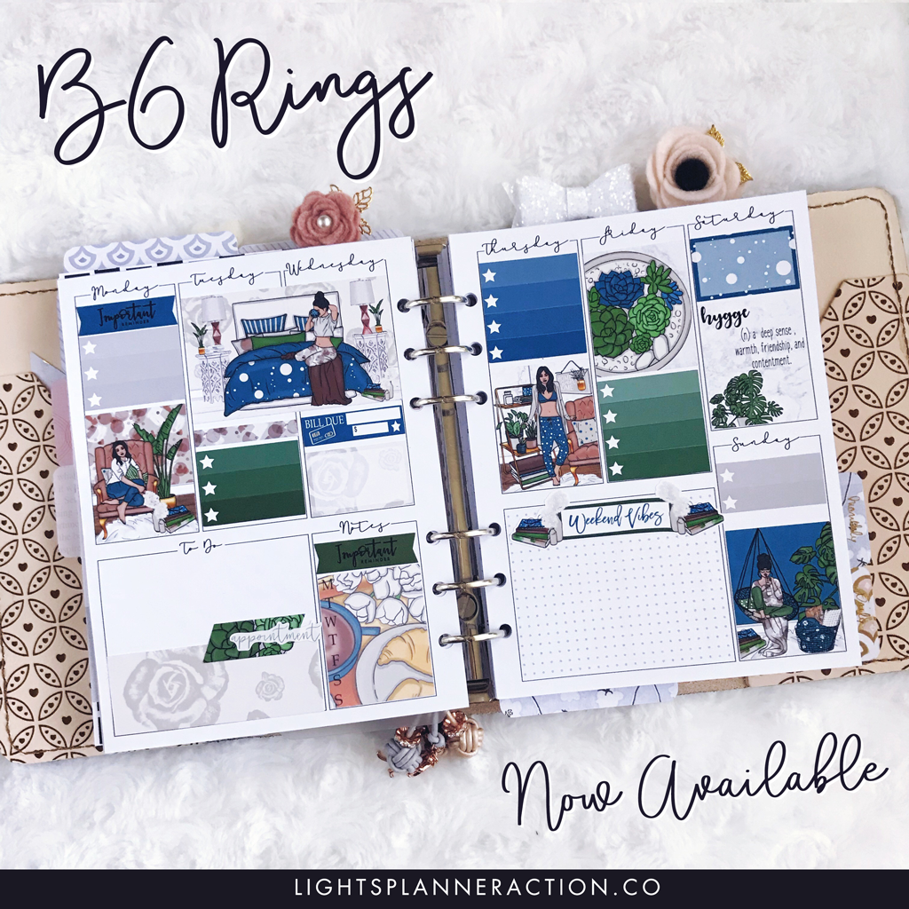 B6 Rings for Planner Peace