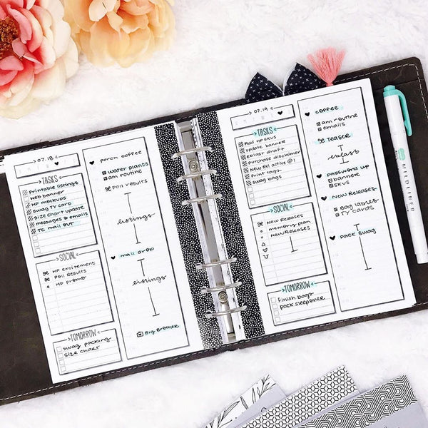 Using a paper planner changes lives and helps get goals done
