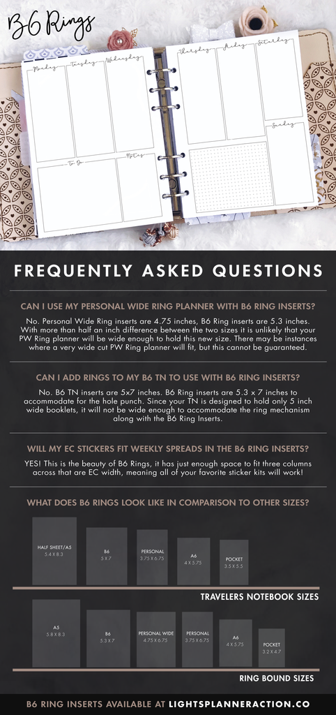 LPA B6 Rings Q&A FAQ Sheet
