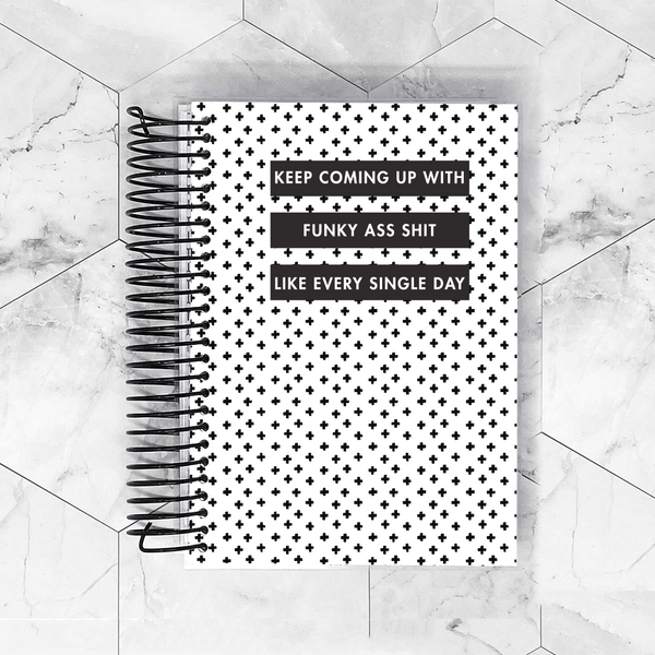 Snoop Dog Planner Cover for B6, Personal Wide, A6, A5, HP Classic and HP Mini