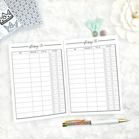 Afterpay Tracker | Printed