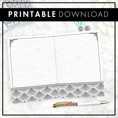 Art Deco Notes | Printable