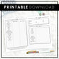 Auto Care Planner | Printable