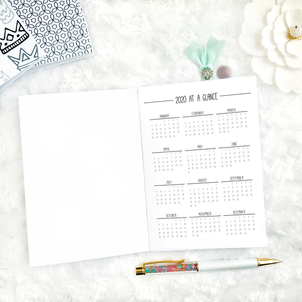 Dated Monthly Doodle | 2021 | Printable