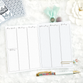 WO4P Vertical Weekly | Script Headers | Graph Columns | Printable