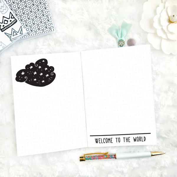 Baby Journal and Memory Keeper | Printable